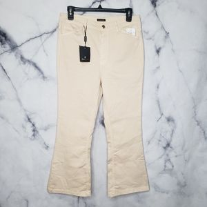 NWT Massimo dutti skinny fit flare trousers